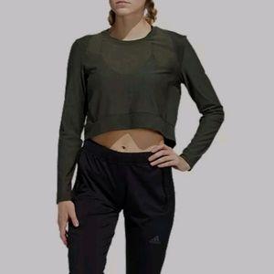 Adidas Open Mesh Studio Long Sleeve Shirt